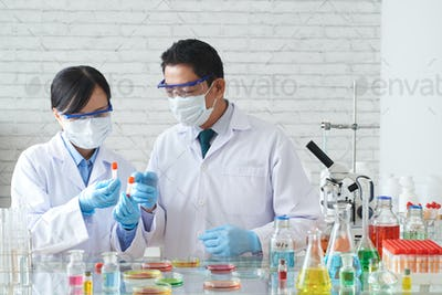 Team of scientists