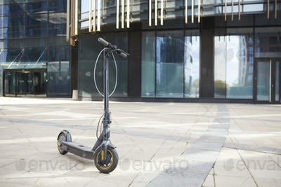 Electric Scooter Outdoors