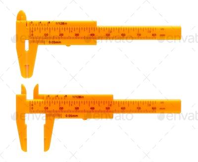 Orange calipers
