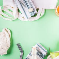 Zero waste food shopping accessories and tools