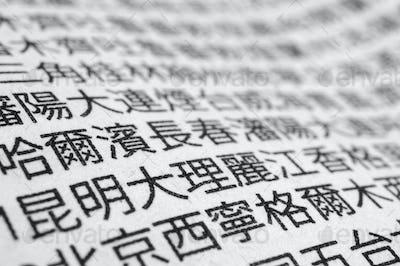 Japanese newspaper, Macro