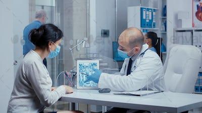 Healthcare diagnosis during COVID-19