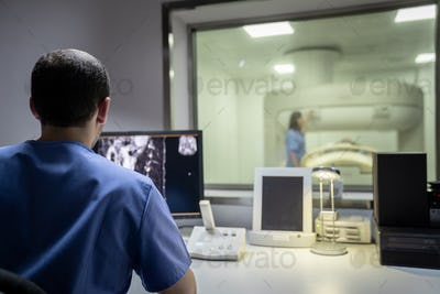 Elderly Patient With Health Problems And Doctor In Medical Center