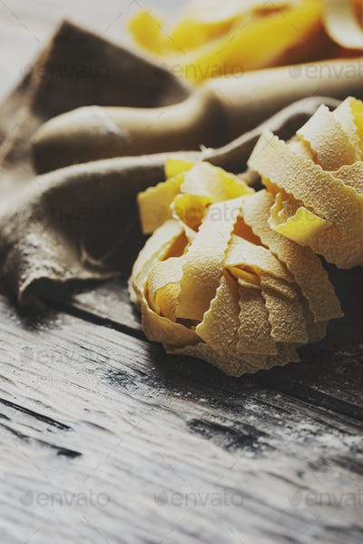 Raw Pappardelle