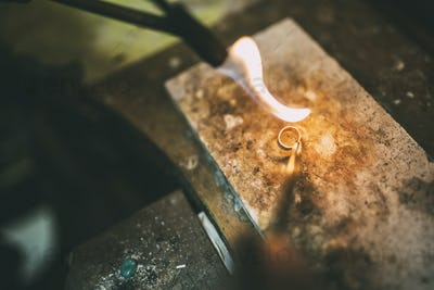 Processing of a ring