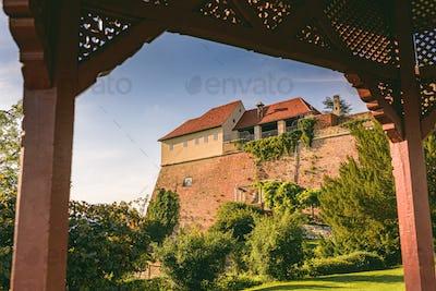 View from Pavillion on Schlossberg hill