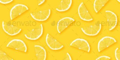 Citrus seamless backdrop texture