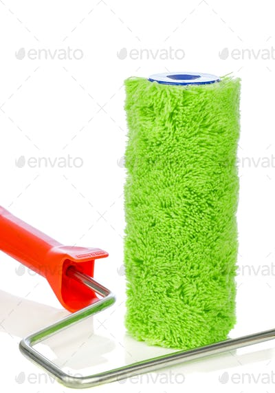 Spare Roller Brush Head & Handle