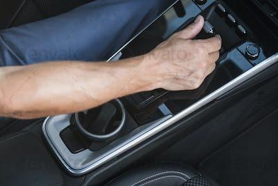 Modern Vehicle Electronic Automatic Transmission Shifter