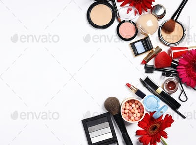 Assortment of Cosmetics