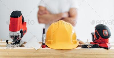 Builder unable to work during the coronavirus lockdown