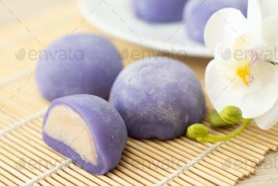 Mochi japanese dessert
