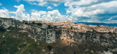 Gerace city, in Calabria Region