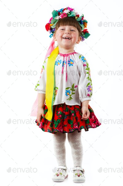 Ukrainian baby girl