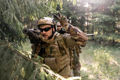 Conducting military operation