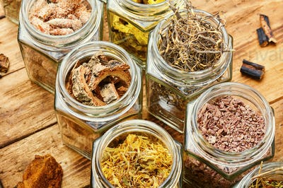 Natural medicine,herbs and root