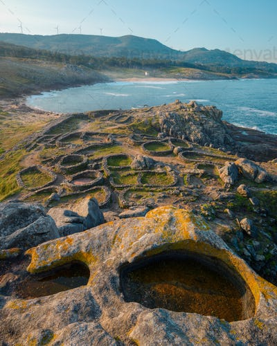 Circular structures of Celtic buildings
