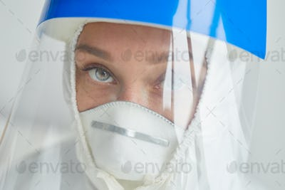 Young Doctor In Protective Mask