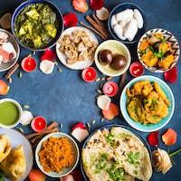 Food for Indian festival Diwali