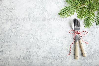 Christmas dinner background