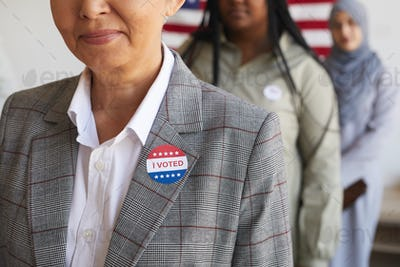 Senior Voter Background