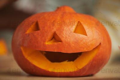 Pumpkin For Halloween Close-up