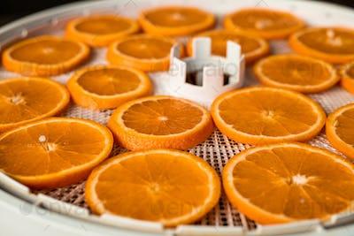 Homemade dried orange