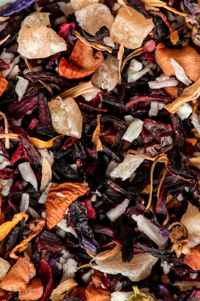 Dried fruit mixture