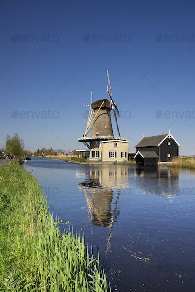 View at windmill De Vriendschap
