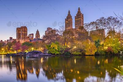 New York, New York, USA at Central Park