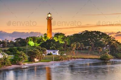Jupiter, Florida, USA at Jupiter Inlet Light
