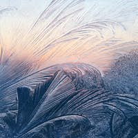 frost and sunlight texture