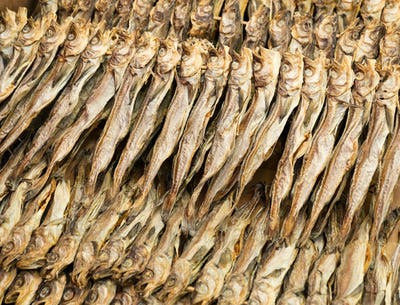 Traditional salty fish