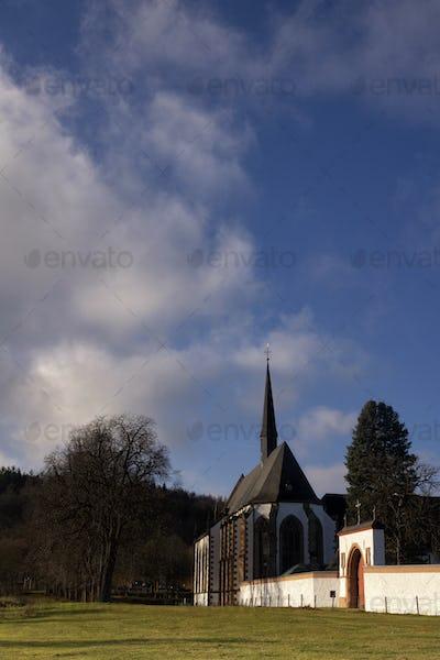 View at Mariawald Abbey