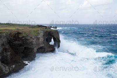 Manza Cape at Okinawa