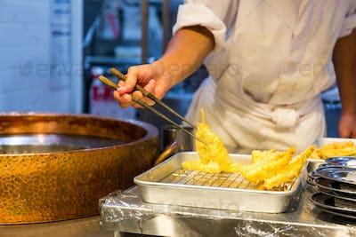 Fried Food, Japanese tempura