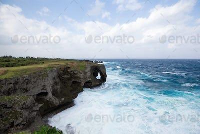 Cape Manza in Okinawa