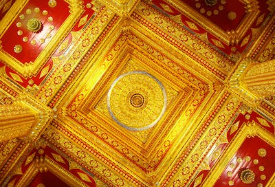 Ceiling decoration with Thailand Style