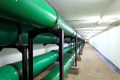 Drainage pipe in underground