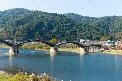 Kintaikyo Bridge in Iwakuni