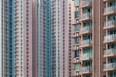 Real estate building facade
