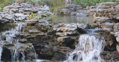 Water pond in garden, Chinese garden