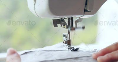Sewing Machine close up