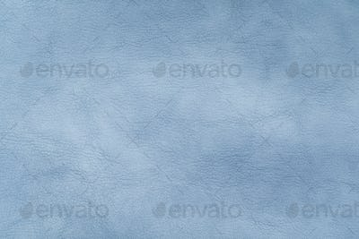 Leather texture in blue color