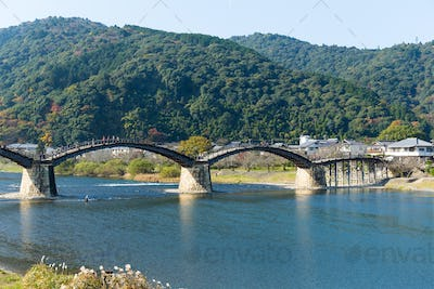Traditional Kintai Bridge