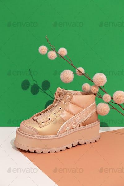 Stylish winter shoes