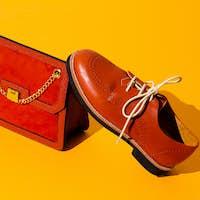 Stylish vintage bag