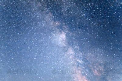 deep sky astrophoto. Beauty world. Carpathians Ukraine Europe.