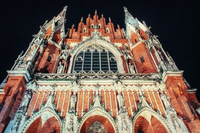 Church St. Joseph in Krakow, Poland.