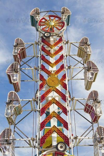 Empty Amusement Park Ride